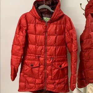 Eddie Bauer long down jacket